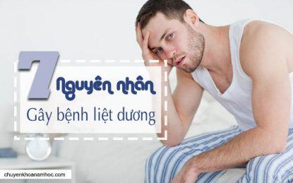 Nguyên nhân gây bệnh liệt dương