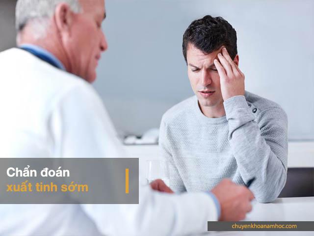 chẩn đoán xuất tinh sớm ở nam giới