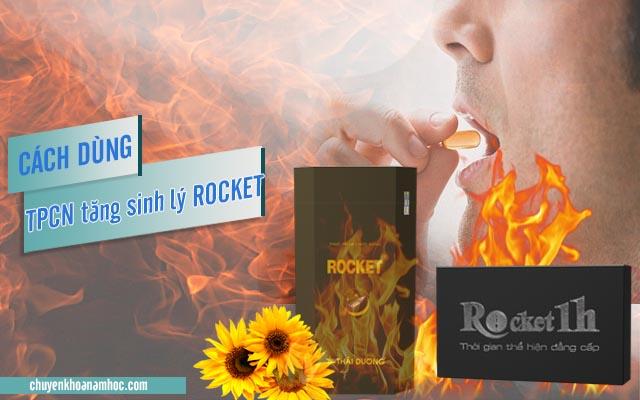 cách dùng Rocket
