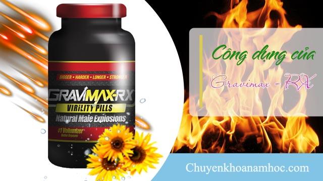 thuốc Gravimax - RX chống xuất tinh sớm