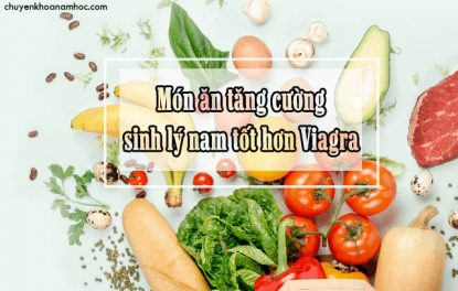 món ăn tăng cường sinh lý nam