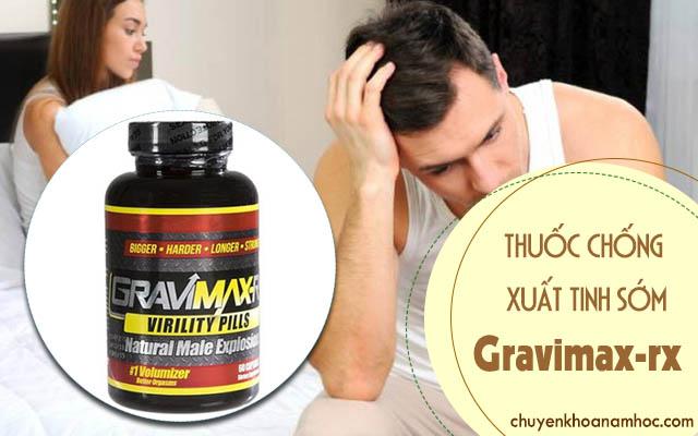 Thuốc chống xuất tinh sớm Gravimax-rx