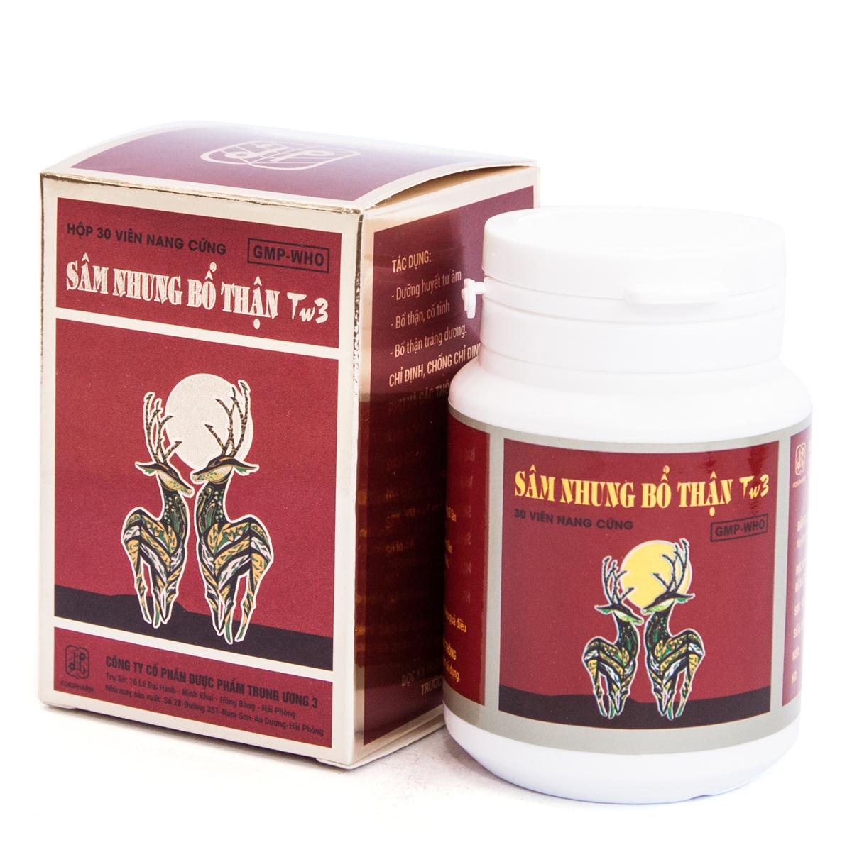 Thuốc sâm nhung bổ thận TW3 có tốt không, giá bao nhiêu?-1