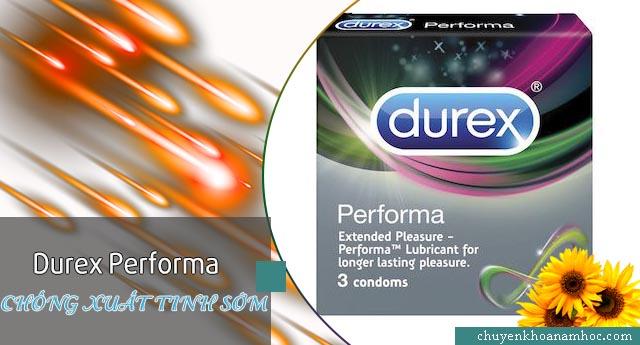 Durex Performa chống xuất tinh sớm