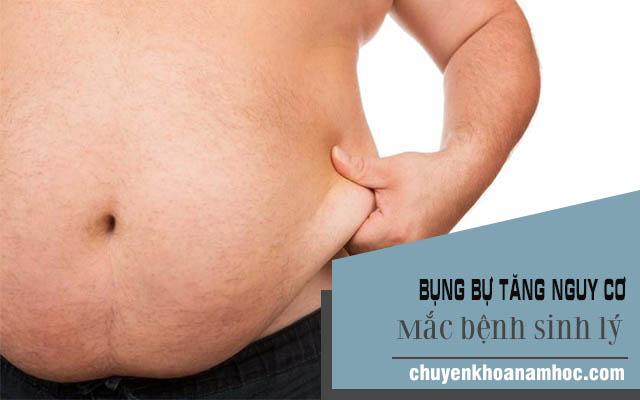 Bụng bự gây ra những ảnh hưởng đến sức khỏe và sinh lý của nam giới