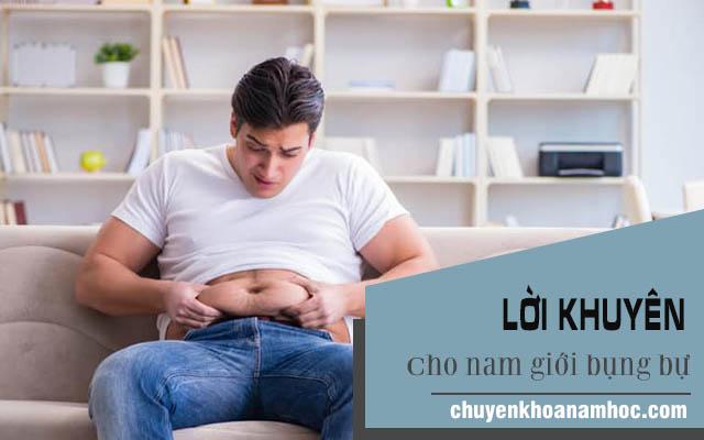 Lời khuyên dành cho nam giới bụng bự