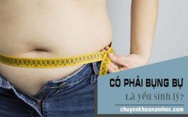 Có phải bụng bự là yếu sinh lý