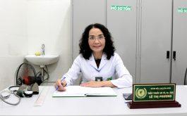 Bác sĩ Lê Phương người đã khám trực tiếp cho mình