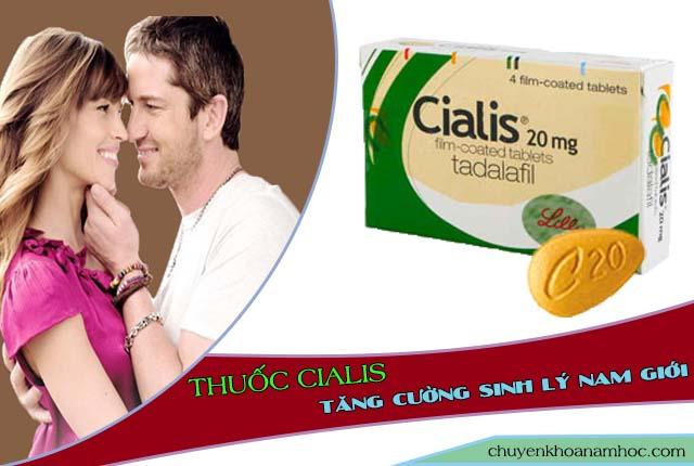 Chữa yếu sinh lý bằng thuốc Cialis