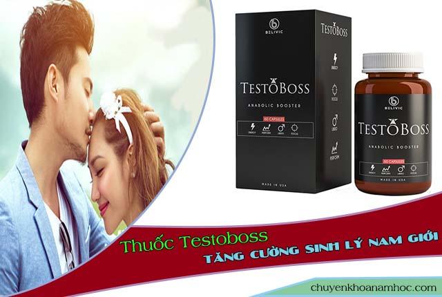 tăng cương bản lĩnh phái mạnh nhờ Testoboss