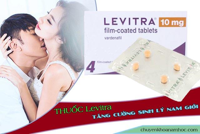 thuốc cương dương Levitra