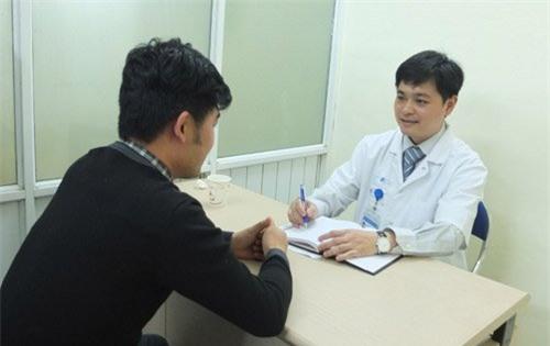 Quy trình khám nam khoa ở Bệnh viện 115