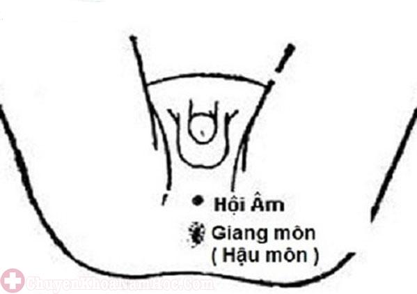 Khắc phục xuất tinh sớm bằng cách bấm huyệt hội âm