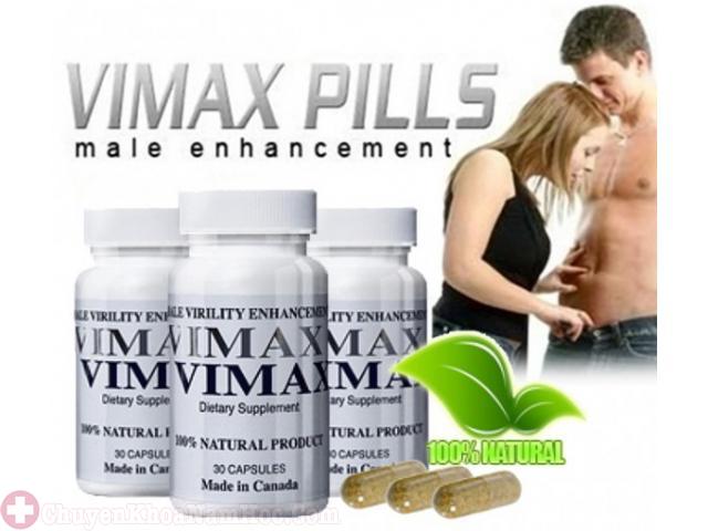 Thuốc kéo dài thời gian quan hệ Vimax Pills