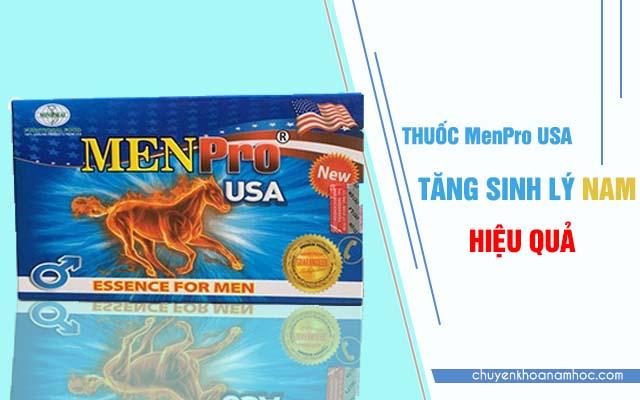 MenPro USA là thuốc tăng cường sinh lý