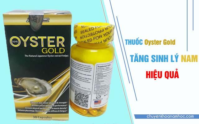 Oyster Gold mang chiết xuất hàu.