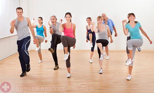 Thể dục thể thao giúp tăng cường sinh lý nam