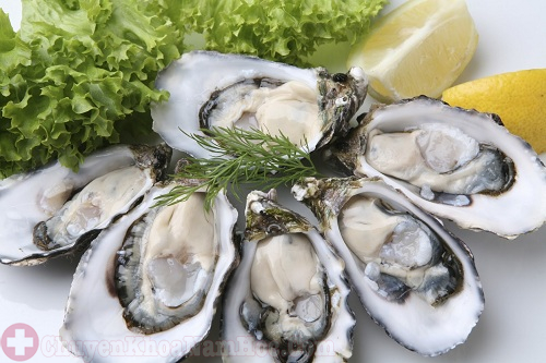 Hàu biển là thực phẩm kéo dài thời gian quan hệ