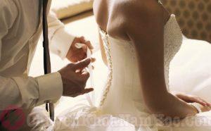 Đêm tân hôn của vợ chồng trẻ