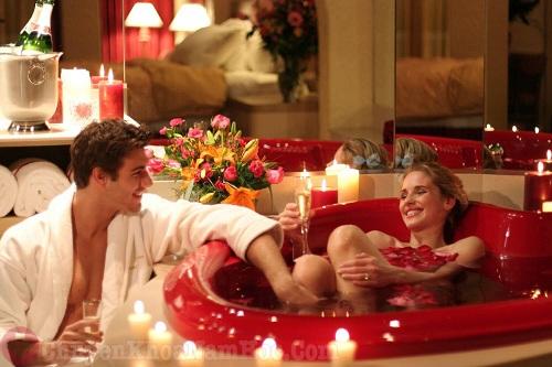 Không gian lãng mãn cho đêm tân hôn của vợ chồng trẻ