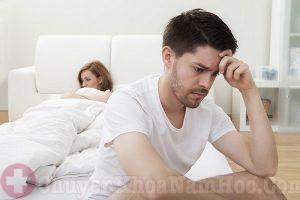 Nam giới lo lắng dễ bị xuất tinh sớm