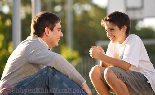 Cha mẹ phải giáo dục giới tính cho con cái