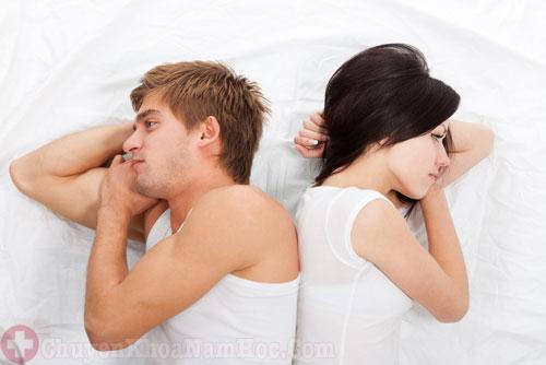 Xuất tinh sớm và ít ảnh hưởng đến mối quan hệ