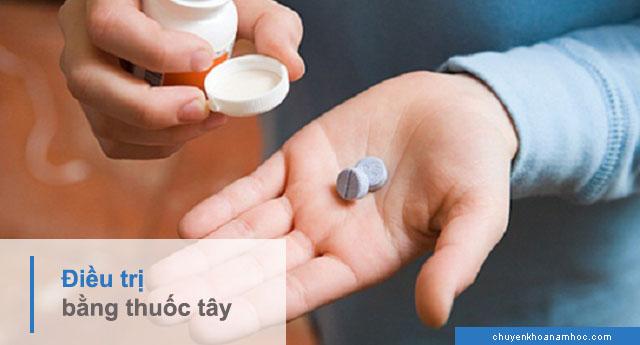 chữa yếu sinh lý bằng thuốc Tây