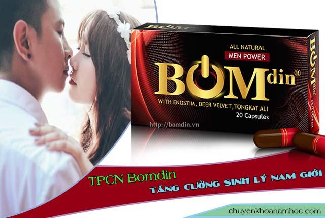 Bomdin hồi phục sinh lý phái mạnh.