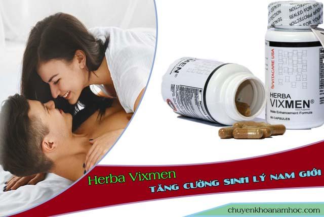 Dùng Herba Vixmen để tăng thời gian cuộc yêu.
