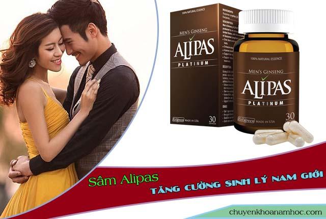 Chữa yếu sinh lý bằng sâm Alipas