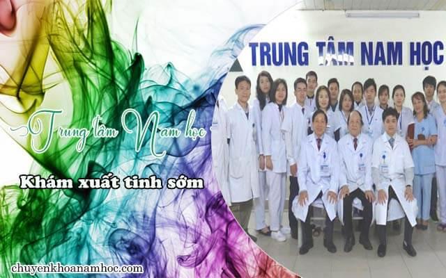 khám xuất tinh sớm Trung tâm Nam học - Bệnh viện Việt Đức