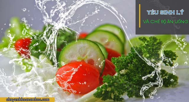 chế độ ăn uống cho người yếu sinh lý
