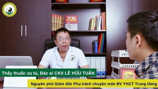 Thầy thuốc - bác sĩ Lê Hữu Tuấn