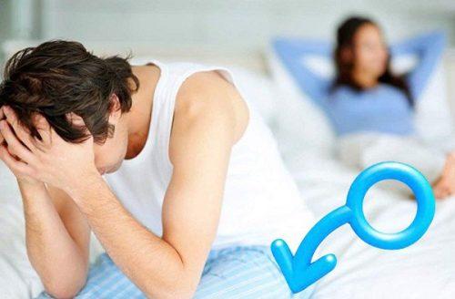 Yếu sinh lý gây ảnh hưởng đến tâm lý và chức năng tình dục của nam giới