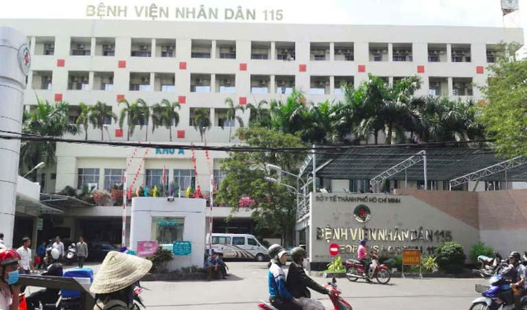 Chữa rối loạn cương dương tại Bệnh viện Nhân Dân 115