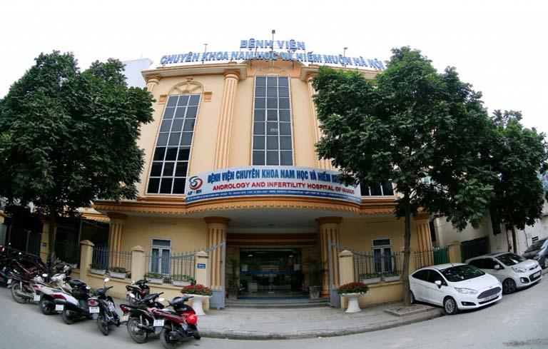 Chữa rối loạn cương dương tại bệnh viện Nam học và Hiếm muộn Hà Nội