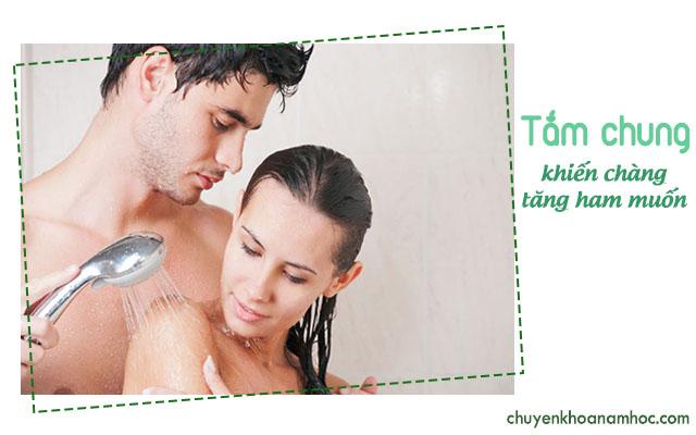 giúp chồng tăng ham muốn