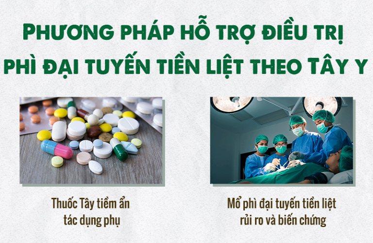 Các phương pháp hỗ trợ điều trị phì đại tuyến tiền liêtj