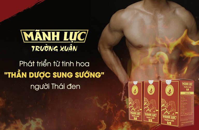 Mãnh lực Trường xuân khắc chế bệnh nam khoa bằng bí quyết của người Thái Đen