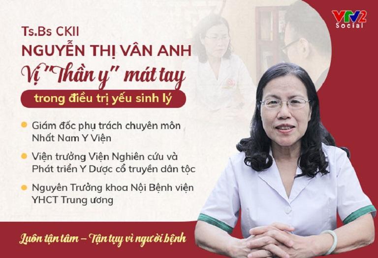 Bác sĩ Nguyễn Thị Vân Anh nói về hiệu quả của Uy Long Đại Bổ
